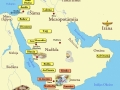 Arābu cilšu izceļošana no Jemenas pēc Maarib dambja sabrukuma. Dažas ciltis ir palikušas Jemenā, bet citas pārcēlās uz ziemeļiem un austrumiem