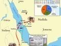 Pirmā un otrā pārceļojuma uz Habašu (Etiopiju) karte