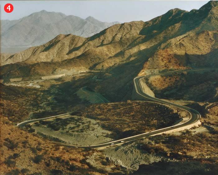 Mūsdienu ceļš, kurš ved uz Taif pilsētu, kas atrodas 80 km no Mekkas