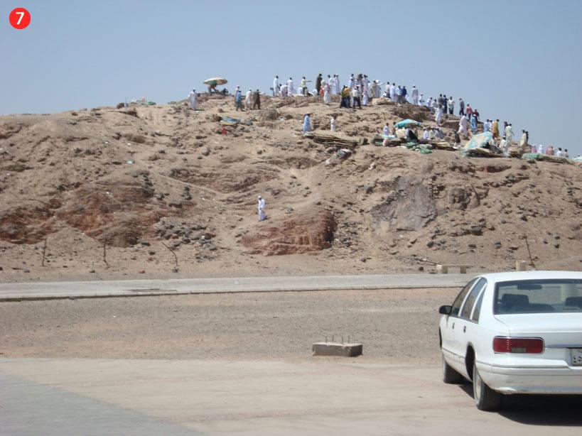 Džabal Ar-Rumā', jeb Loku šāvēju kalns, kuram bija stratēģiski svarīga loma kaujā pie Uhuda