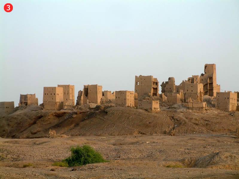 Maarib pilsētas paliekas