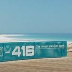 Nāves jūras krasts - zemāka vieta uz planētas