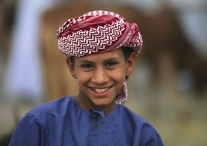 Bedouin Kid in Nizwa, Oman