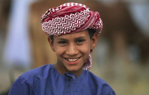 Bedouin Kid in Nizwa, Oman