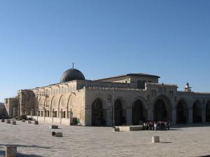 12. gadsimtā krustneši Al-Aksas mošeju izmantoja kā pili