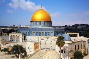 Abdulmalika 690. gadā uzceltā Klints kupola mošeja