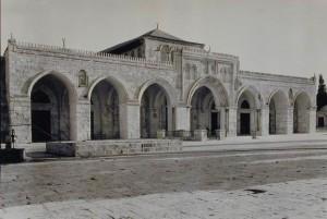 Al-Aksas mošejas fasāde