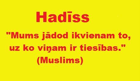 hadīss