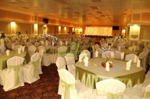 Simtiem kāzu viesu tiek aicināti vakariņās īpašās laulību zālēs